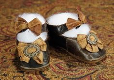 The Memory of All That - Marquis Antique Doll Auction: 131 French Black Leather Shoes for Early Period Bru Bebe, Size 10