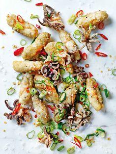 Recipe: salt and pepper chilli squid
