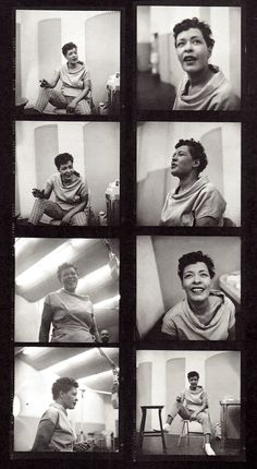 BILLIE HOLIDAY. 1955 by Phil Stern. (from Music Box : Photographing the all time greats 2012) (please follow minkshmink on pinterest) #billieholiday #ladyday