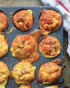 Savoury Muffins, Breakfast Muffins, Cheese Muffins