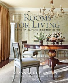 This book makes a luxurious gift for that special person in your life who loves all things stylish. Celebrated interior designer Suzanne Rheinstein focuses on the use of rooms—from entries to outdoor