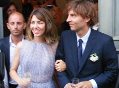 Sofia Coppola from Celebs Who Didn't Wear White Wedding Gowns  The filmmaker wed rocker Thomas Mars in the quaint Italian town of Bernalda, donning a custom lilac chiffon dress by couturierAzzedineAlaïa.