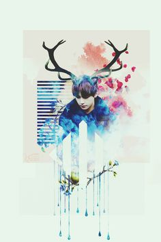 BTS Taehyung Wallpaper by pastel.ohsehun at Instagram