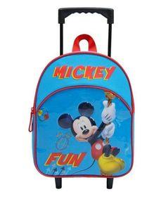 8b8feafcae ΣΧΟΛΙΚΑ ΕΙΔΗ  Τσάντα νηπίου τρόλευ Mickey Mouse - Bagtrotter