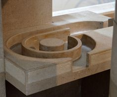 Carlo Scarpa, the Museo Revoltella in Trieste, Italy, Detail of a Fountain