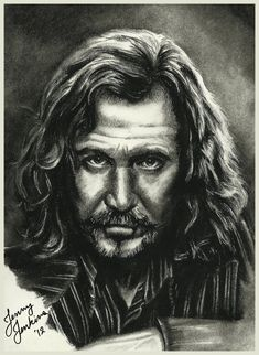 Sirius Black (Gary Oldman) from the Harry Potter film series. I don't know why it took me so long to draw him, given that he's my FAVORITE character out. Fanart Harry Potter, Albus Severus Potter, Harry Potter Artwork, Harry Potter Drawings, Harry Potter Characters, Harry Potter Love, Harry Potter Memes, Harry Potter World, Sirius Black