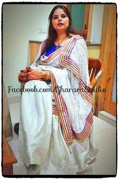 My beautiful client. Thanks Maria for sharing the pic. Mail at ghararastudio@gmail.com also follow us on Facebook #beautiful #gharara #ghararadesign #ghararastudio #orderonline #party #partywear #partygharara