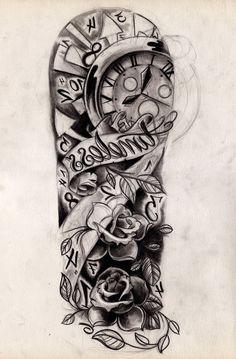 Forearm Tattoo Sleeve Designs Tattoo Ideas On Pinterest Monkey King ...