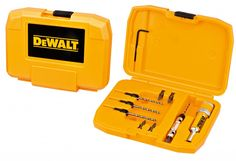 DeWalt DT7612XJ Flip Drive Drill Set – Countersink Pilot Bits PH2 PZ2 Includes Case
