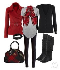 How to wear red dress casual fall outfits 31 new ideas Mode Outfits, Casual Outfits, Fashion Outfits, Womens Fashion, Fashion Trends, Dress Casual, Fashion Ideas, Fashionista Trends, Casual Dressy