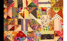 Did you know a blanket can tell a story? Today Wonderopolis is piecing together a wordless history… one quilt patch at a time.