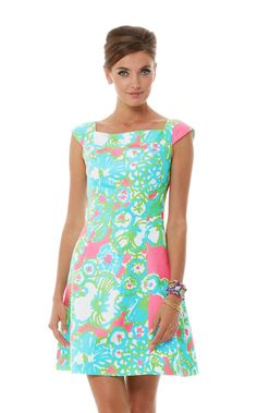 So impossibly cute! <3 Lilly Pulitzer York Fit And Flare Dress