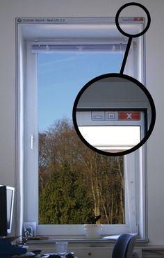 9. Marco para ventana de ventana de Windows.
