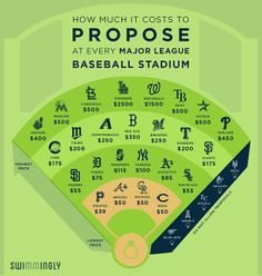 Here's What It Costs to Propose at an MLB Stadium | Bleacher Report