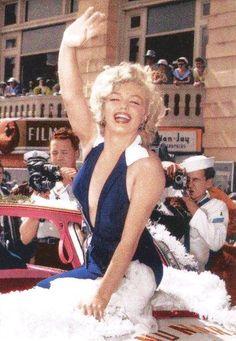 Marilyn Monroe, Miss America Parade