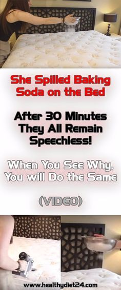 Watch What Baking Soda Can Do To Your Mattress, It Will Leave You Speechless