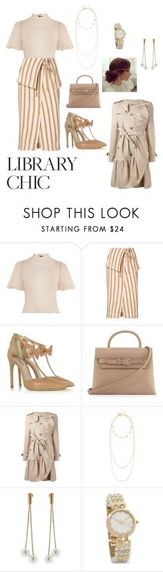 """Untitled #659"" by ericap61720 ❤ liked on Polyvore featuring Topshop, Rosie Assoulin, Olgana, Alexander Wang, Boutique Moschino, Rebecca Minkoff, Kenneth Jay Lane and BillyTheTree"
