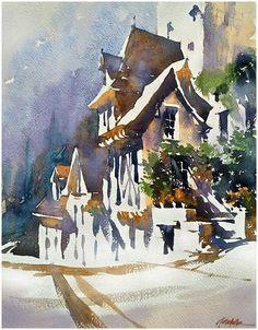 thomas w. schaller - watercolor artis