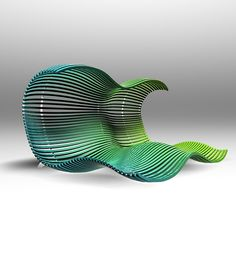 The perfect lawn chair ~ designer Dima Loginoff (2008)