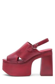 Jeffrey Campbell Shoes CECILIA Shop All in Red Combo