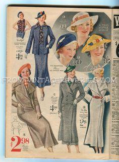 Catalog Woman Mail Order Fashion 75