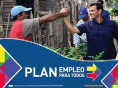 Plan Empleo, Capriles Radonski 2012. hayuncamino.com/empleo