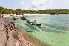 Kayaking, snorkeling, water skiing, sailing and scuba diving are just some of the activities one can enjoy in Lake Malawi.   http://blog.suretravel.co.za/2014/01/the-secret-of-mystical-magical-malawi_9189.html  #Malawi #LakeMalawi #Kayaking #Paradise #TravelBucketList #Travel #SureTravel