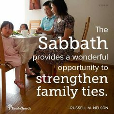 Sabbath=strength for families