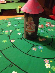 Bordspel: Wie red als eerste de prinses uit de toren?
