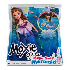 Moxie Girlz™ Magic Swim Mermaid™ Doll- Kellan™