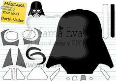 Descarga gratis nuestras plantillas para goma eva y fieltro de tus personajes favoritos de Star Wars: C3PO, Yoda, Darth Vader...