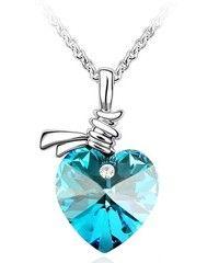 Creo que Blue Austrian Crystal Heart Gemstone Necklace te gustará. Agrégalo a tu lista de deseos   http://www.wish.com/c/51ac2e2e515e280b2d29951f