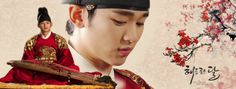 "Kim Soo Hyun in ""The Moon That Embraces The Sun"" series"