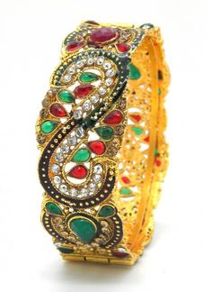 Alluring Metal Multi Colored Kangan.