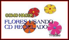 COMO HACER MANUALIDAD PARA EL DIA DE LA MADRE CON CD'S RECICLADOS FACIL ...
