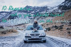 10 reasons why you should travel to Iceland in the winter. You know you'll get cheap flights from Europe and USA with WOW air (wowair.com). #iceland #wowair #travel #winter