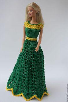 Одежда для кукол ручной работы. Заказать Просто красивое платье. Барбариска. Ярмарка Мастеров. Одежда для кукол, купить подарок, пайетки