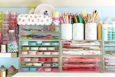 Craft Room – Ideas for an Organized Craft Room - Country Living