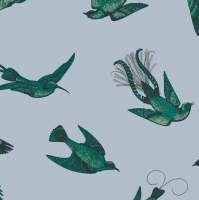 Tropical Birds 89/1003 - for half bath