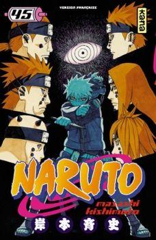 Couverture Naruto, tome 45