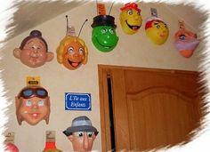Les masques pour le carnaval