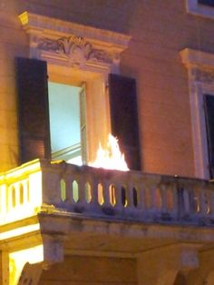 Fire at the Carabinieri from www.atthepinkhouse.tumblr.com