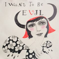 I want to be evil