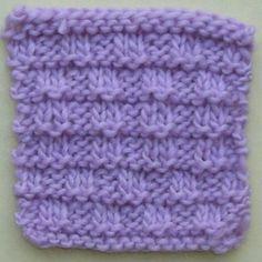 Purled Ladder Stitch Knitting Stitch Pattern