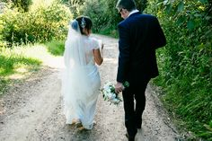 New husband and I! Waiheke Island Wedding by Joanna Wickham