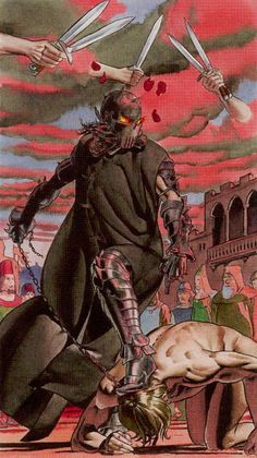 Five of Swords  - Initiatory Tarot of the Golden Dawn by Giordano Berti, Patrizio Evangelisti