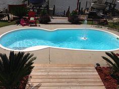 Central Pools, Inc. Maurepas, Louisiana - Trilogy Fiberglass Pools