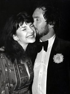 Kate Bush and Kenny Everett at the Capital Radio Music Awards in 1980...Picture: Chris Skarbon/REX