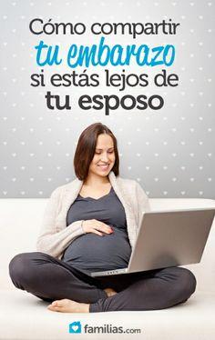 Si estás embarazada y las circunstancias hacen que estés lejos de tu esposo, no te desanimes. No te pierdas estas divertidas ideas para sentirlo más c...