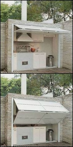 When designing an outdoor space, personalization is key. This is especially true for outdoor kitchen ideas  #OutdoorKitchenIdeas #OutdoorKitchenIdeasPallets #OutdoorKitchen
